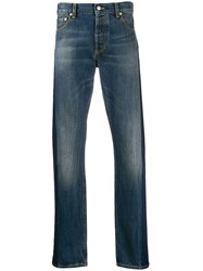 Alexander Mcqueen Side Tape Straight Leg Jeans 60