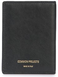 Common Projects Classic Bifold Cardholder Black