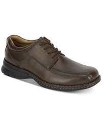 Dockers Trustee Oxford Shoes Dark Tan