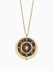 Kate Spade Out Of Her Shell Pendant Tortoise Multi