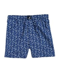 Nautica Printed Boxer Shorts Plaid Print