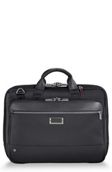 Briggs And Riley Work Medium Briefcase Black