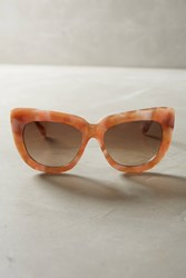 Anthropologie Sonix Coco Sunglasses Neutral Motif