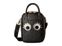 Betsey Johnson Googly Moogly Lunch Tote Black Tote Handbags