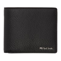 Paul Smith Ps By Black Stripe Bifold Wallet
