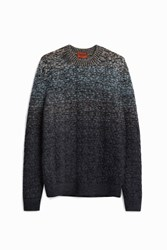Missoni Cable Neck Jumper Grey