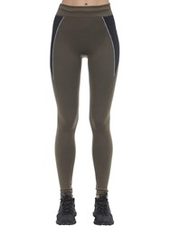 Falke Technical Leggings Taupe