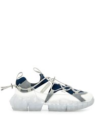 Jimmy Choo Diamond Trail Sneakers White
