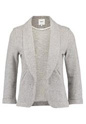 Only Onlhanna Blazer Dark Grey Melange Mottled Dark Grey