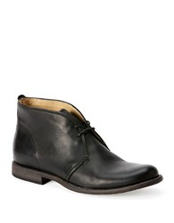 Frye Phillip Leather Chukka Boots Black