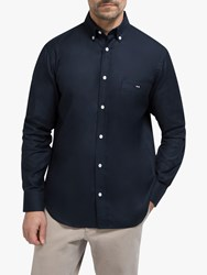 Eden Park Regular Fit Cotton Oxford Shirt Navy