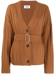 Each X Other Belted Oversized Cardigan 60
