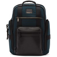 Tumi Navy Sheppard Deluxe Brief Pack Backpack