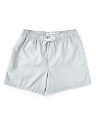 The Idle Man Polka Dot Swim Shorts Grey
