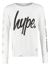 Hype Long Sleeved Top White