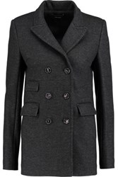 Isabel Marant Paolo Wool Blend Blazer Charcoal