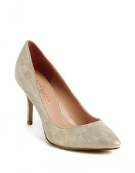 Enzo Angiolini Call Me Leather Pumps Ivory