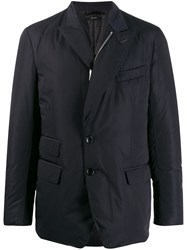 Tom Ford Tailored Puffy Blazer Blue