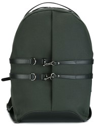 Mismo Double Strapped Backpack Green