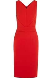 Narciso Rodriguez Satin Trimmed Stretch Crepe Dress