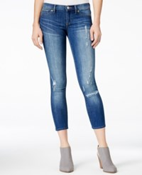 Dittos Taylor Calypso Destructed Wash Cropped Jeggings