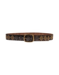 Pepe Jeans Belts Dark Brown