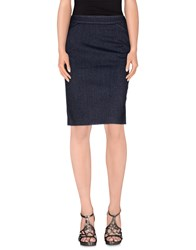 Lupattelli Skirts Knee Length Skirts Women Dark Blue