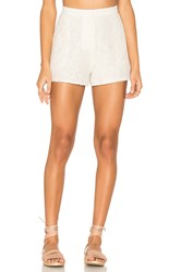 Blaque Label Lace Shorts White