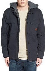 Men's Billabong 'Barlow' Hooded And Lined Canvas Workwear Jacket