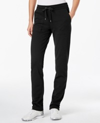 American Living Solid Athletic Pants Only At Macy's Black