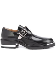 Barbara Bui Monk Strap Loafers Black