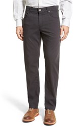 Men's Brax Flat Front Stretch Cotton Trousers