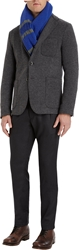 Barena Venezia Three Button Sport Coat Grey Melange