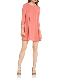 Bcbgeneration Open Back Trapeze Dress Dusty Rose