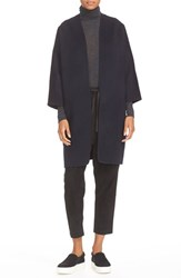 Vince Women's Reversible Wool And Cashmere Long Cardigan Coat