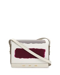 Pulce Leather Crossbody Bag White Multi Vbh
