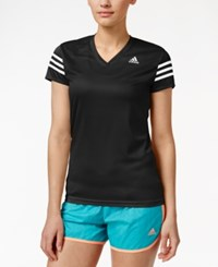 Adidas Cap Sleeve Climalite Top Black