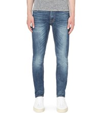 Tiger Of Sweden Pistolero Slim Fit Tapered Jeans Cant Mid Blue