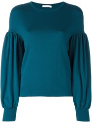 Societe Anonyme 'Popeye' Pullover Sweater Green