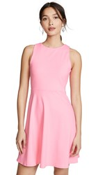 Susana Monaco Fit And Flare Dress Knockout Pink