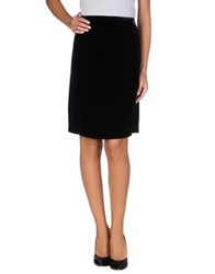 P.A.R.O.S.H. Knee Length Skirts Black