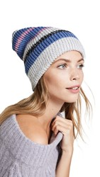 Free People All Day Everyday Slouchy Beanie Blue