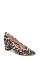 Taryn Rose 'S Madline Pump Cream Printed Leather