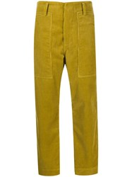 Sofie D'hoore Porter Cort Trousers Yellow