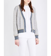 Vanessa Bruno Gildas Knitted Cardigan Denim