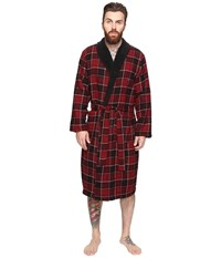 Original Penguin Flannel Fleece Robe Biking Red Men's Robe