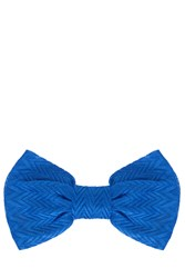 Missoni Bow Headband Blue