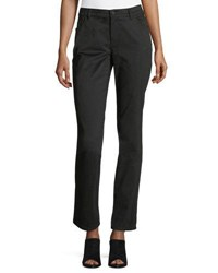Lafayette 148 New York Thompson Boot Cut Jeans Black