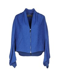 Alberta Ferretti Coats And Jackets Jackets Women Blue