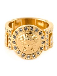 Versace Medusa Ring Metallic